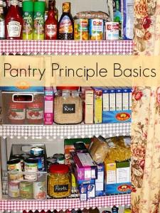 Pantry Basics – How We Manage On Less Money Pt. 2