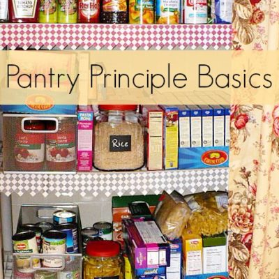 Pantry Basics – How We Manage On Less Money Pt. 2