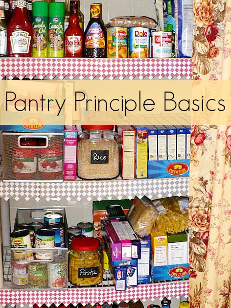the basics of the pantry principle