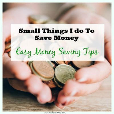 Easy money saving tips