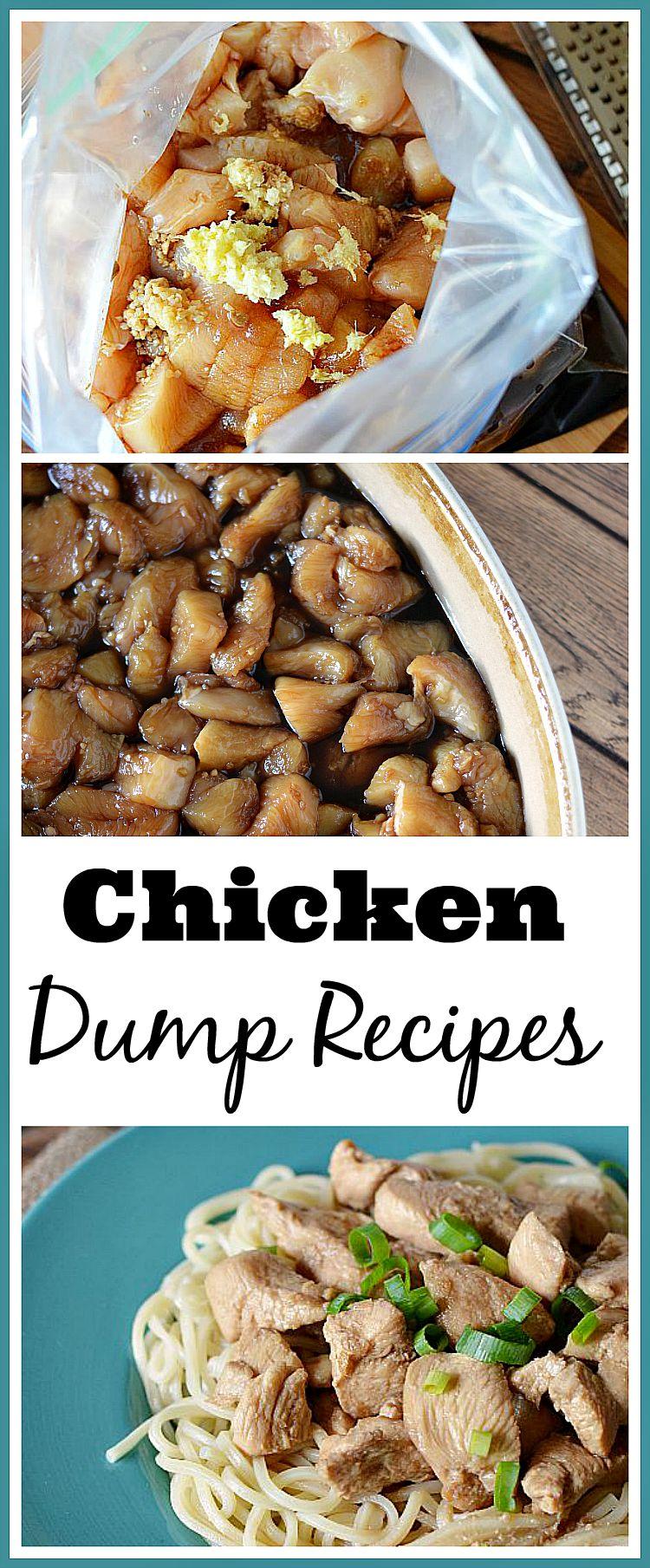 Chicken Dump Dinner Recipes