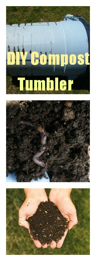DIY Compost Tumbler Tutorial