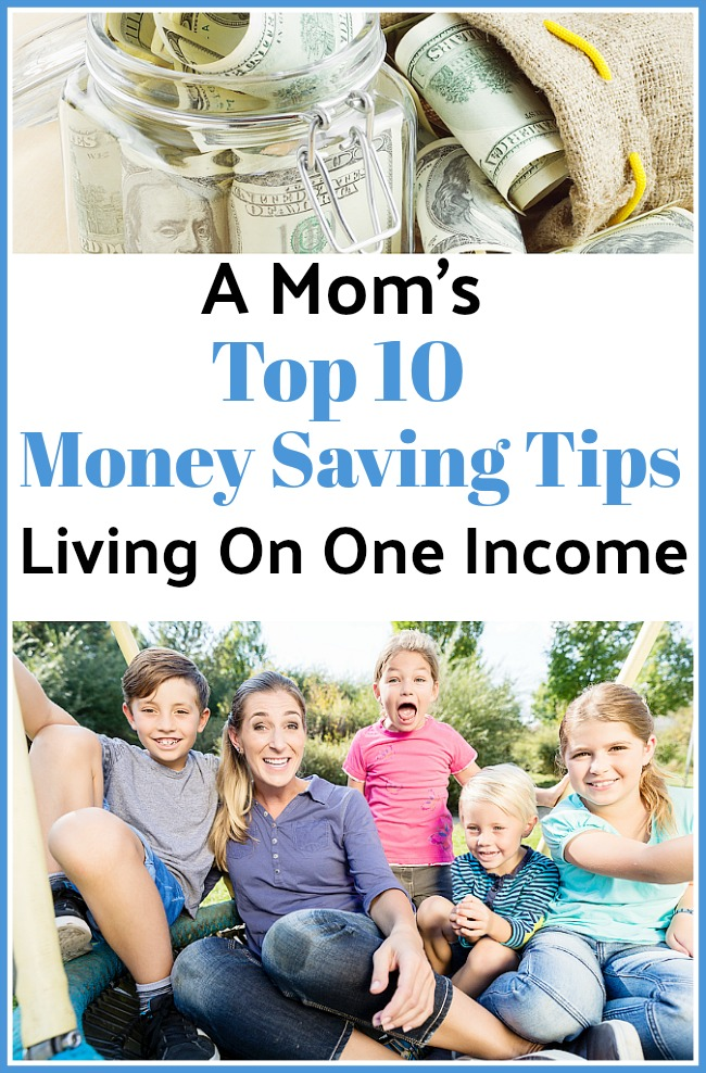 Top 10 Money Saving Tips for Moms- We've lived off of one income for years, and as a stay at home mom I think I've read every frugal living book out there!. Here are my favorite money saving tips for moms to help you thrive on a budget! They can help you stay within your budget too! | ways to save money as a single mom, ways for moms to save money, contentment as a stay at home mom, #saveMoney#frugalLiving #moneySavingTips #sahm #stayAtHomeMoms #frugality #frugal #debtFree #ACultivatedNest