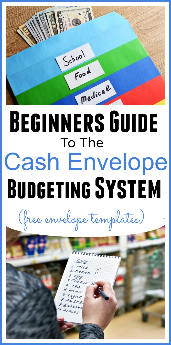 Learn how to use the cash envelope system of budgeting. It's an amazing tool that will keep you accountable and on track with your budget! Free cash envelope template available | budgeting, how to make a budget, Dave Ramsey, frugal living, frugal living tips