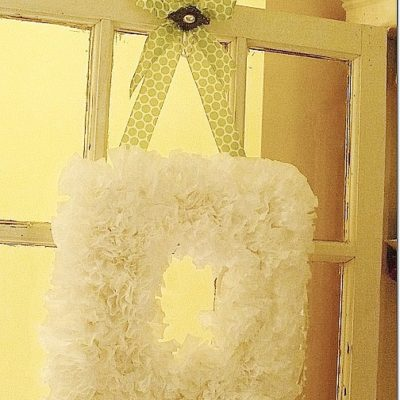 A Cultivated Nest coffee filter wreath tutorial