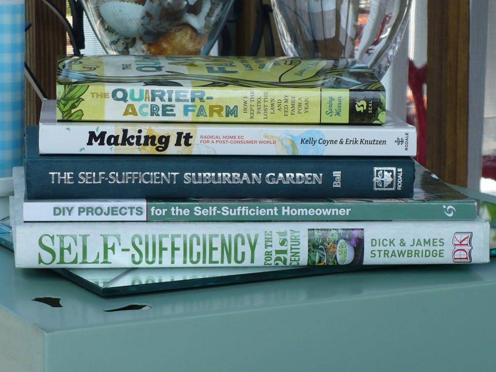homesteading books