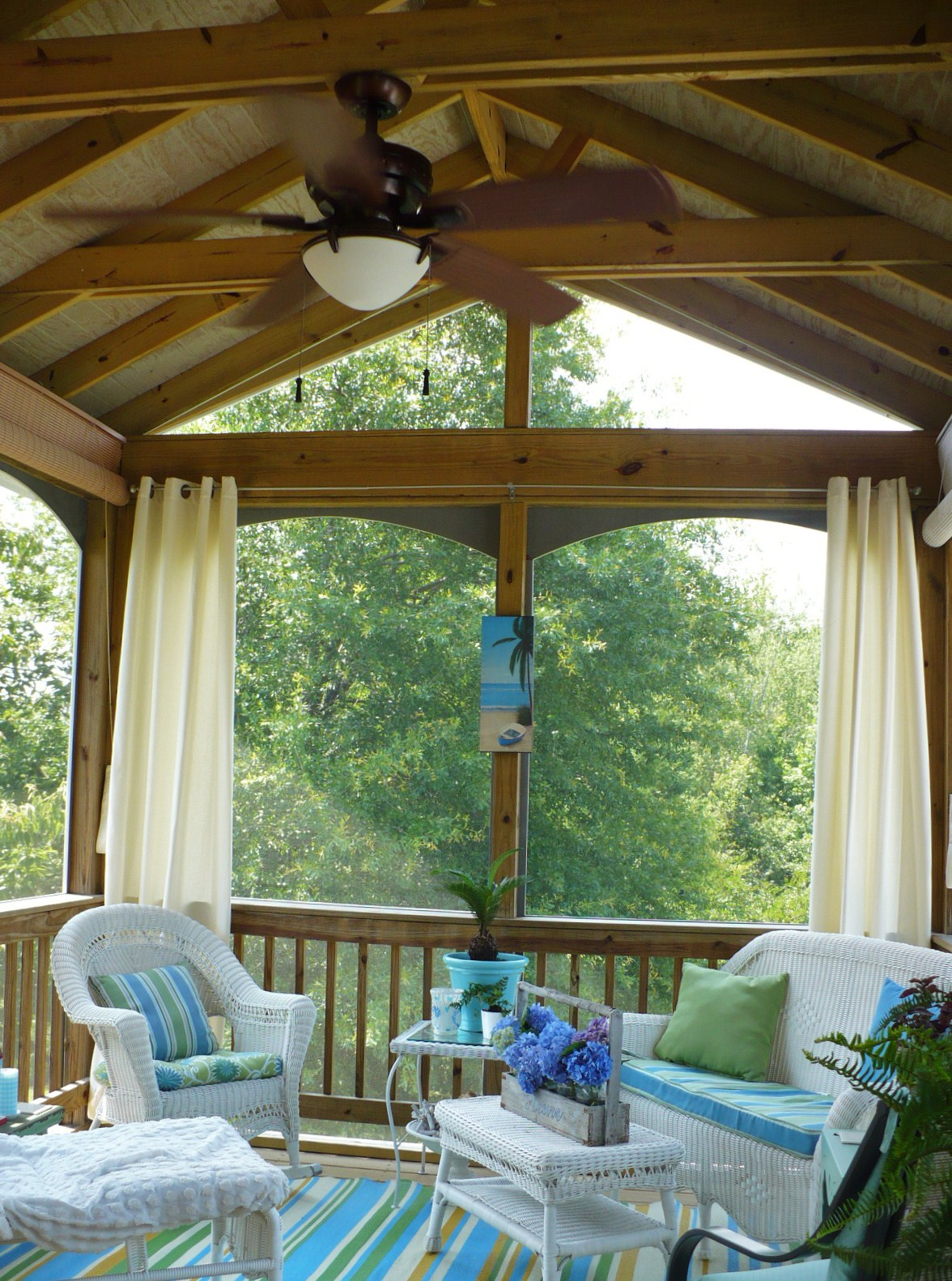 Decorating A Screened Porch A Summer Porch A Cultivated Nest