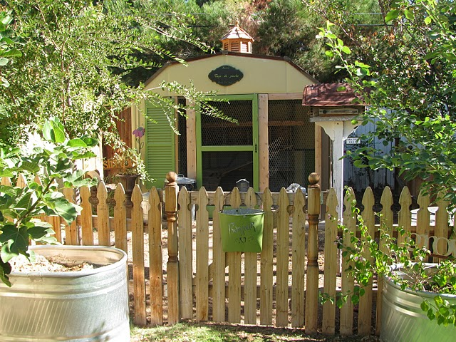 exterior chicken coop