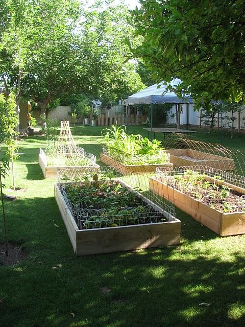 Boho Farm and Home raised beds