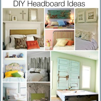 Amazing DIY Headboard Ideas