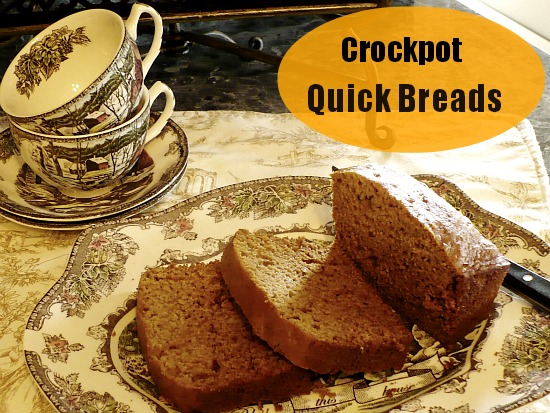 baking quick breads in a crockpot