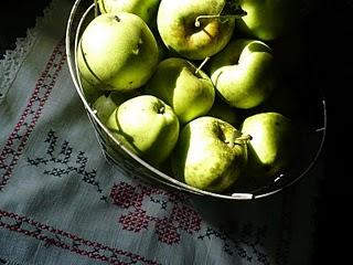 home grown apples