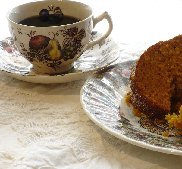 autumn's delight teacup
