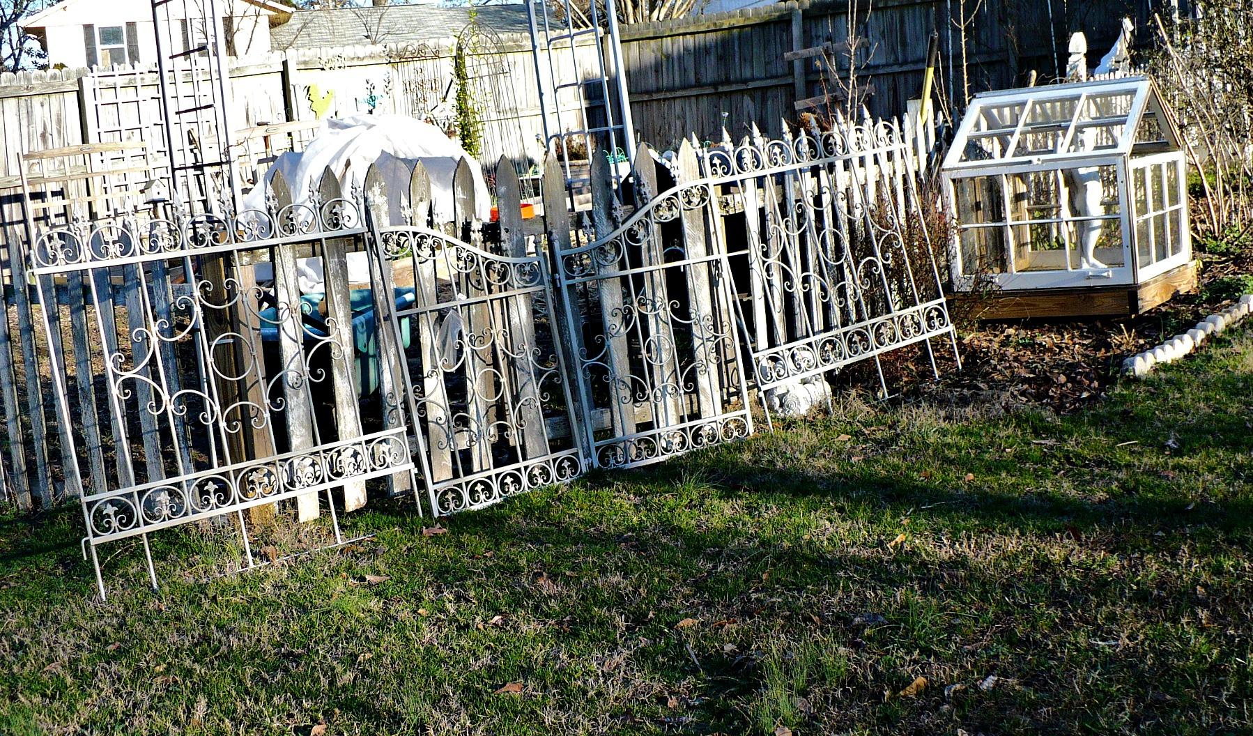 My Thrifty Garden Gate Find A Cultivated Nest - Garden gate for sale