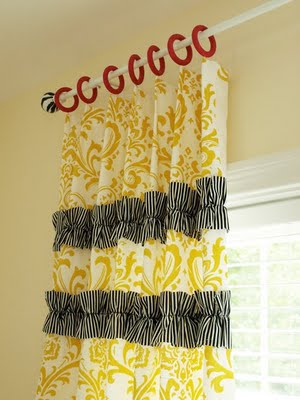 ruffled curtain tutorial