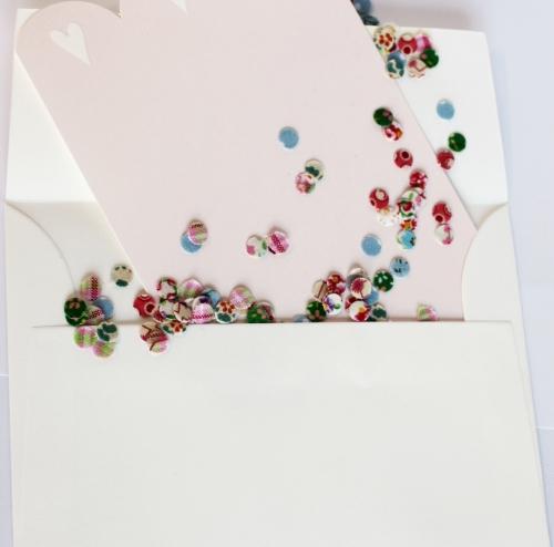 Please click on photo to go to fabric confetti tutorial