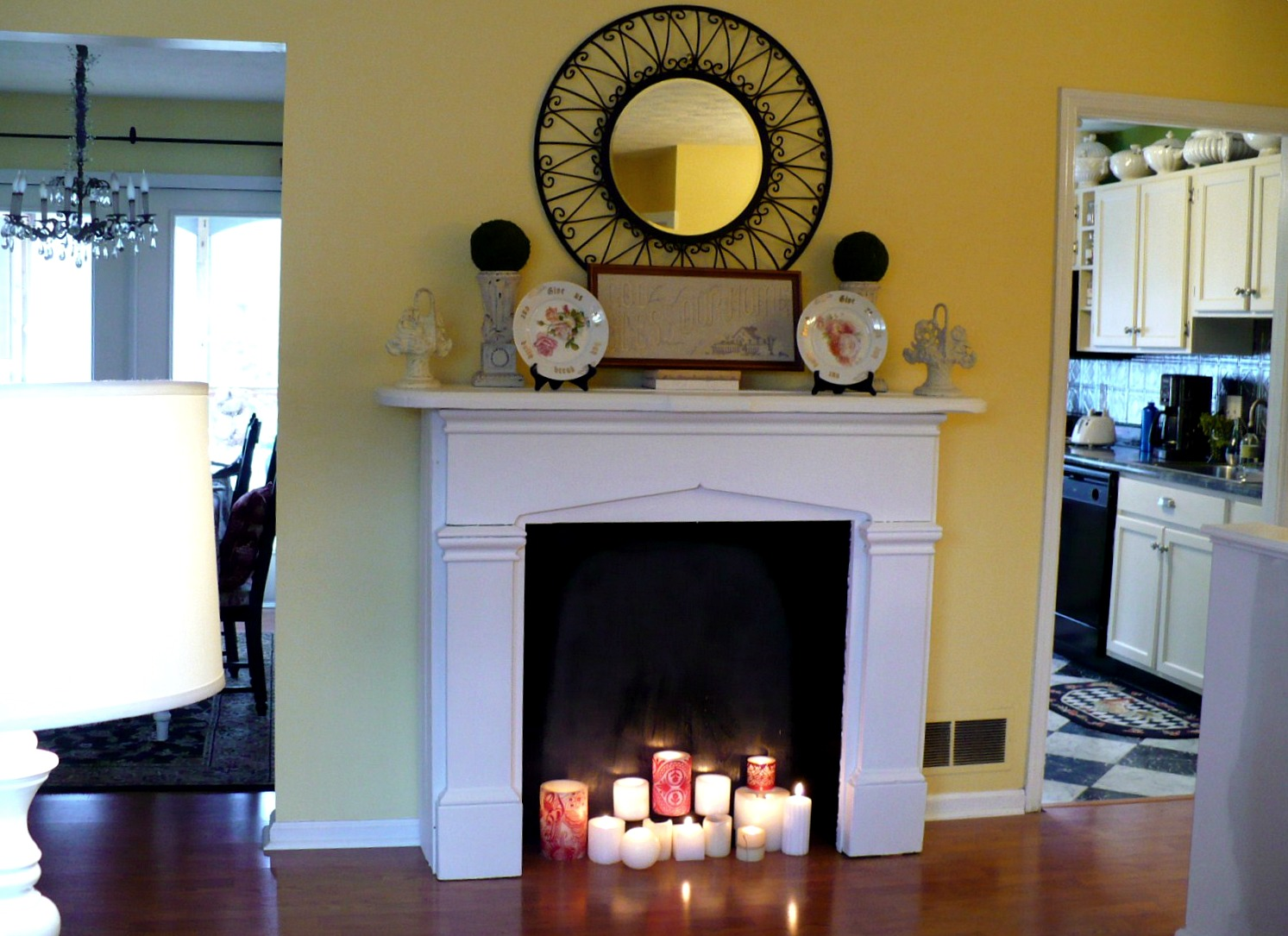Image Result For How To Make An Open Fireplacea