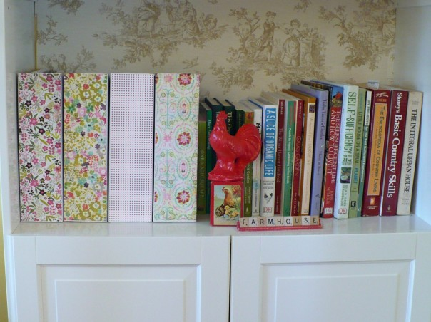 DIY decoupaged magazine holders