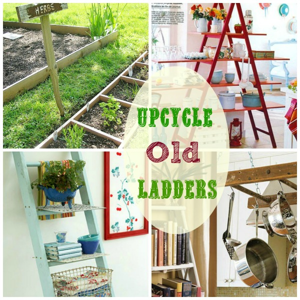 upcycle old ladders