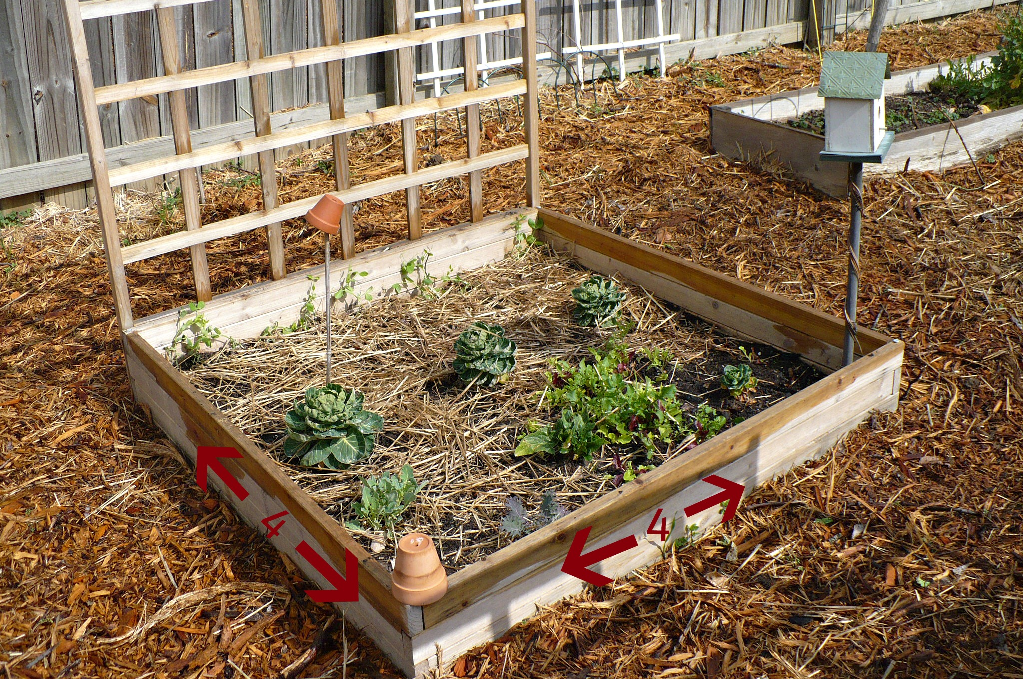 How To Build A Raised Bed - A Cultivated Nest