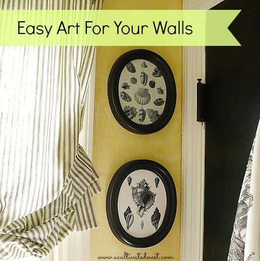 DIY Easy Art For Your Walls