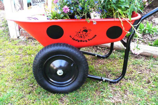 Ladybug Wheelbarrow