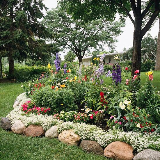 bouldger garden edging