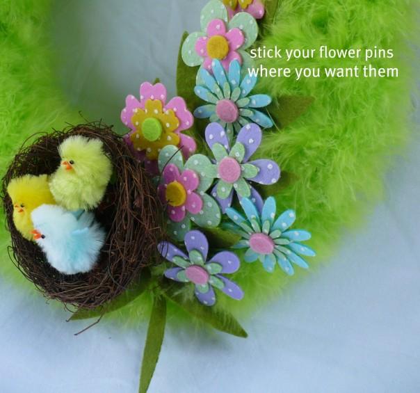 flower stick pins