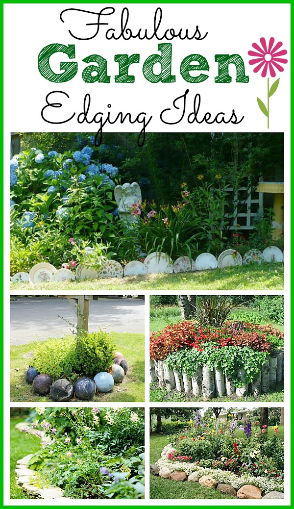 Fabulous Garden Edging Ideas Bed  A Cultivated Nest