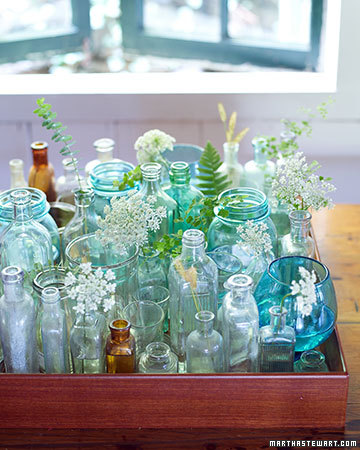 10 Ways To Upcycle Glass Bottles and Jars