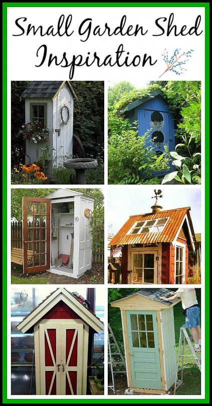 Small DIY Garden Shed Ideas
