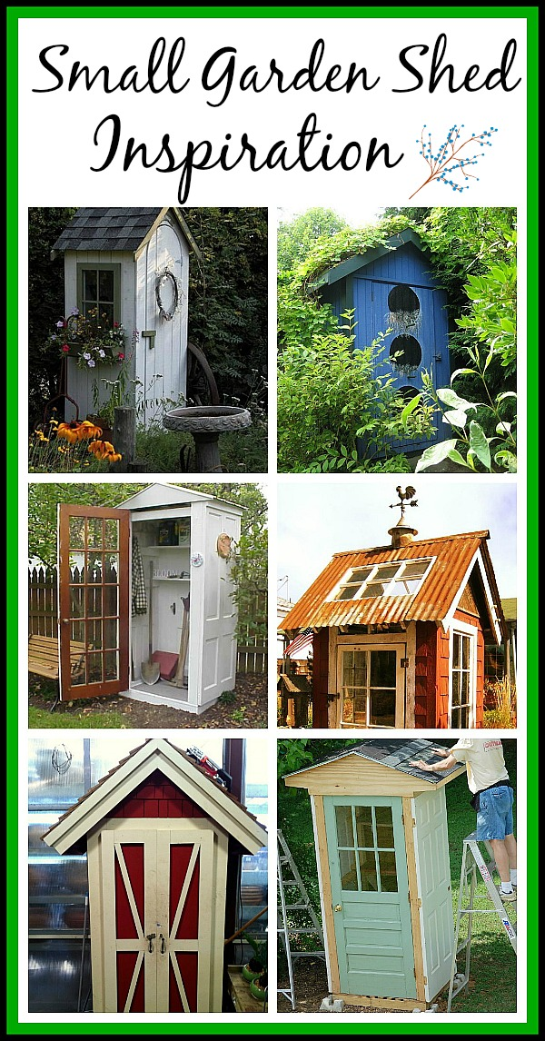 Small Garden Shed Love - A Cultivated Nest