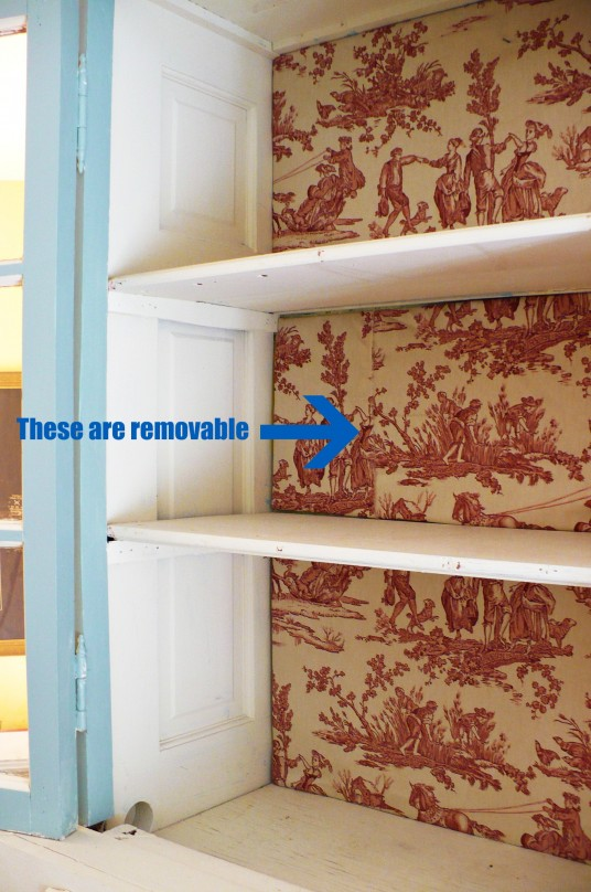 removable toile panels