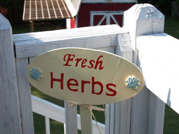 Fresh Herb Sign