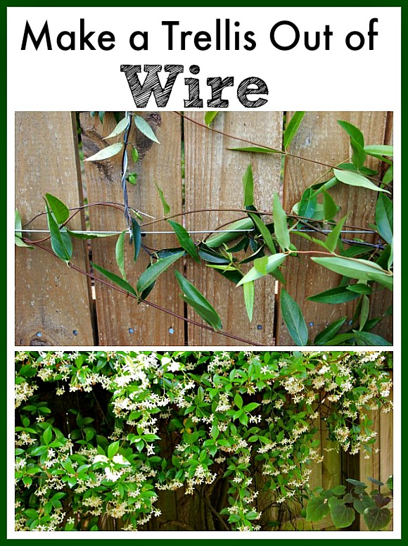 Diy trellis make a trellis out of wire a cultivated nest for Make your own fence