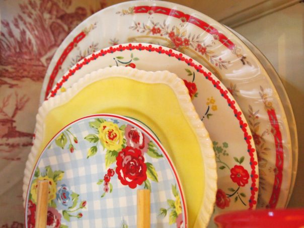 cottage style plates