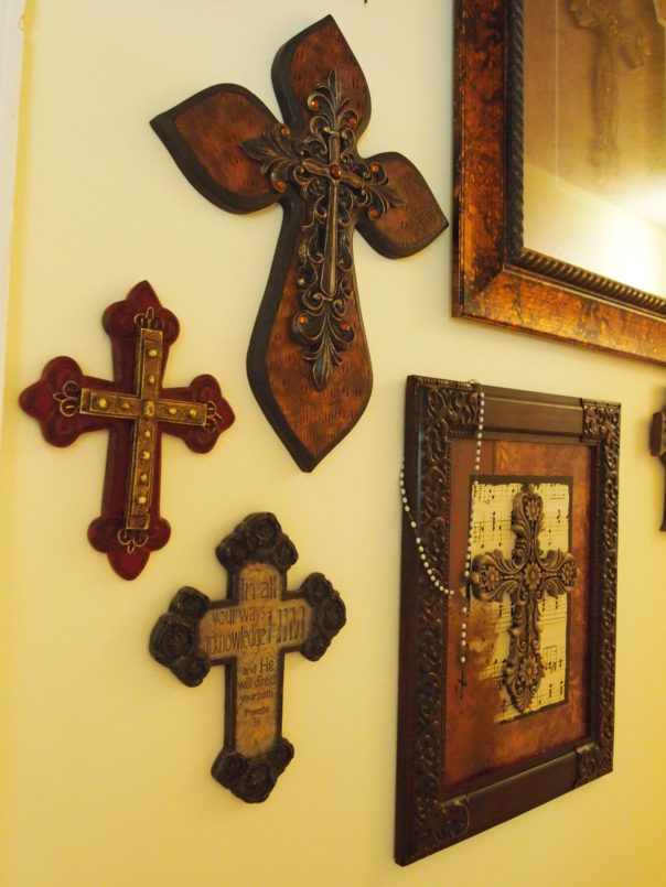 crosses as wall art