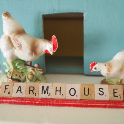 vintage chickens