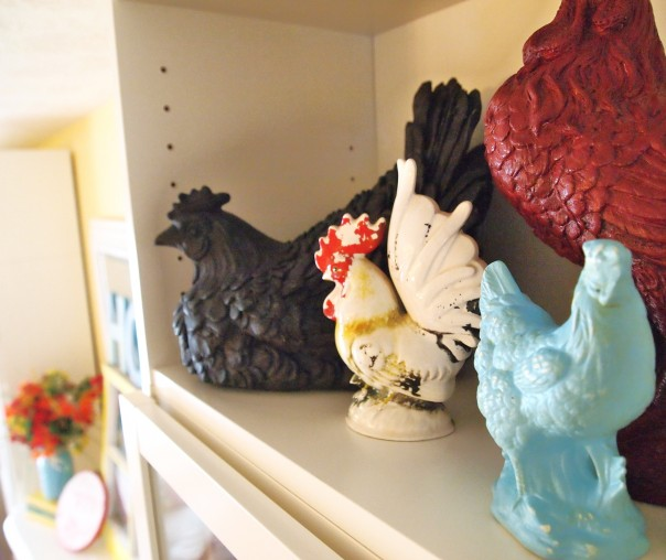 ceramic rooster collection