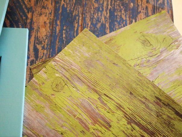 chippy paint scrapbook paper