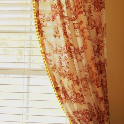 curtains with fringe