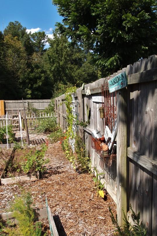 fence planting