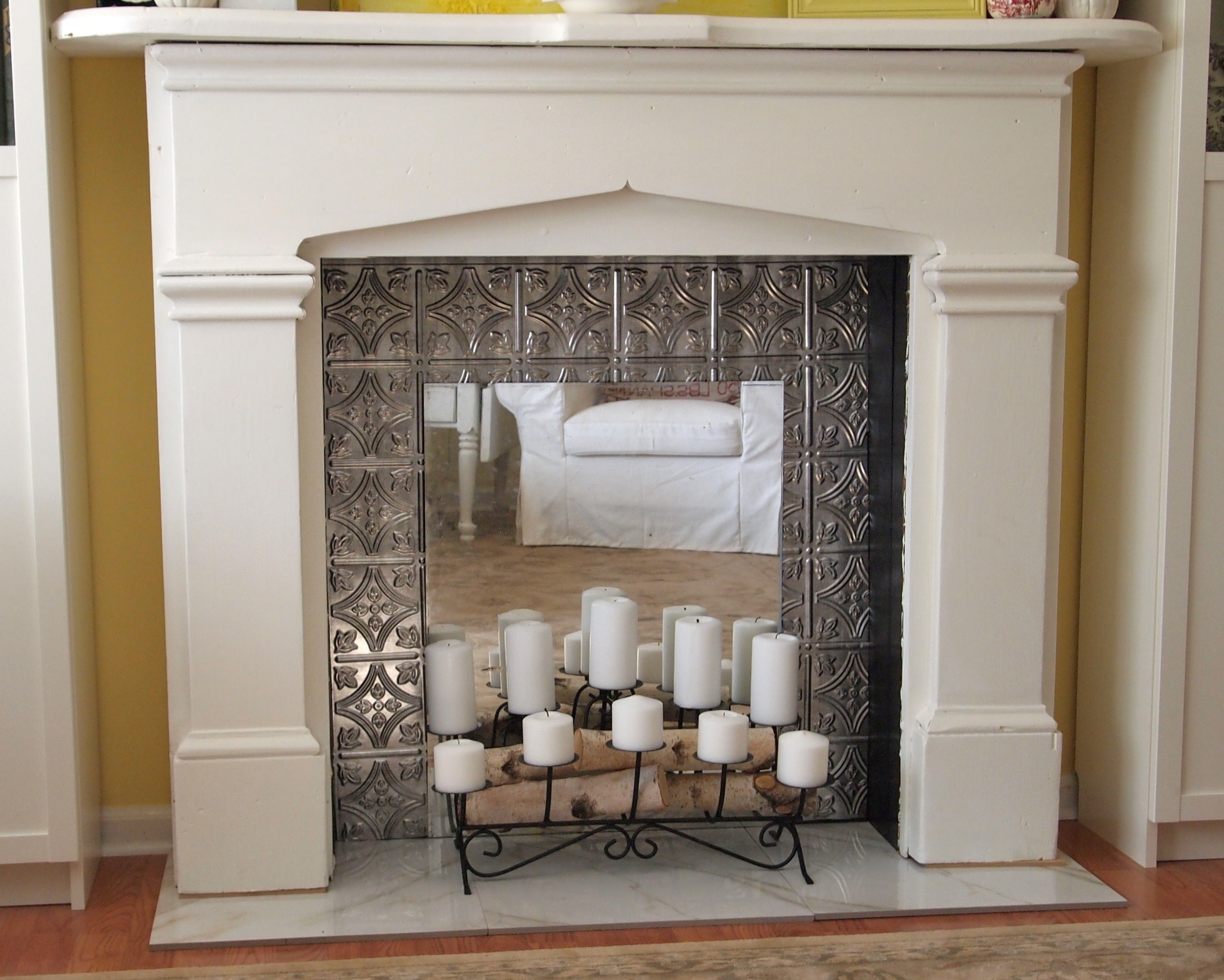 How to Make a Faux Fireplace A Cultivated Nest