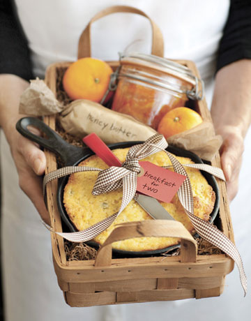 gift basket of food