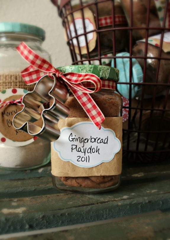 gingerbread playdoh