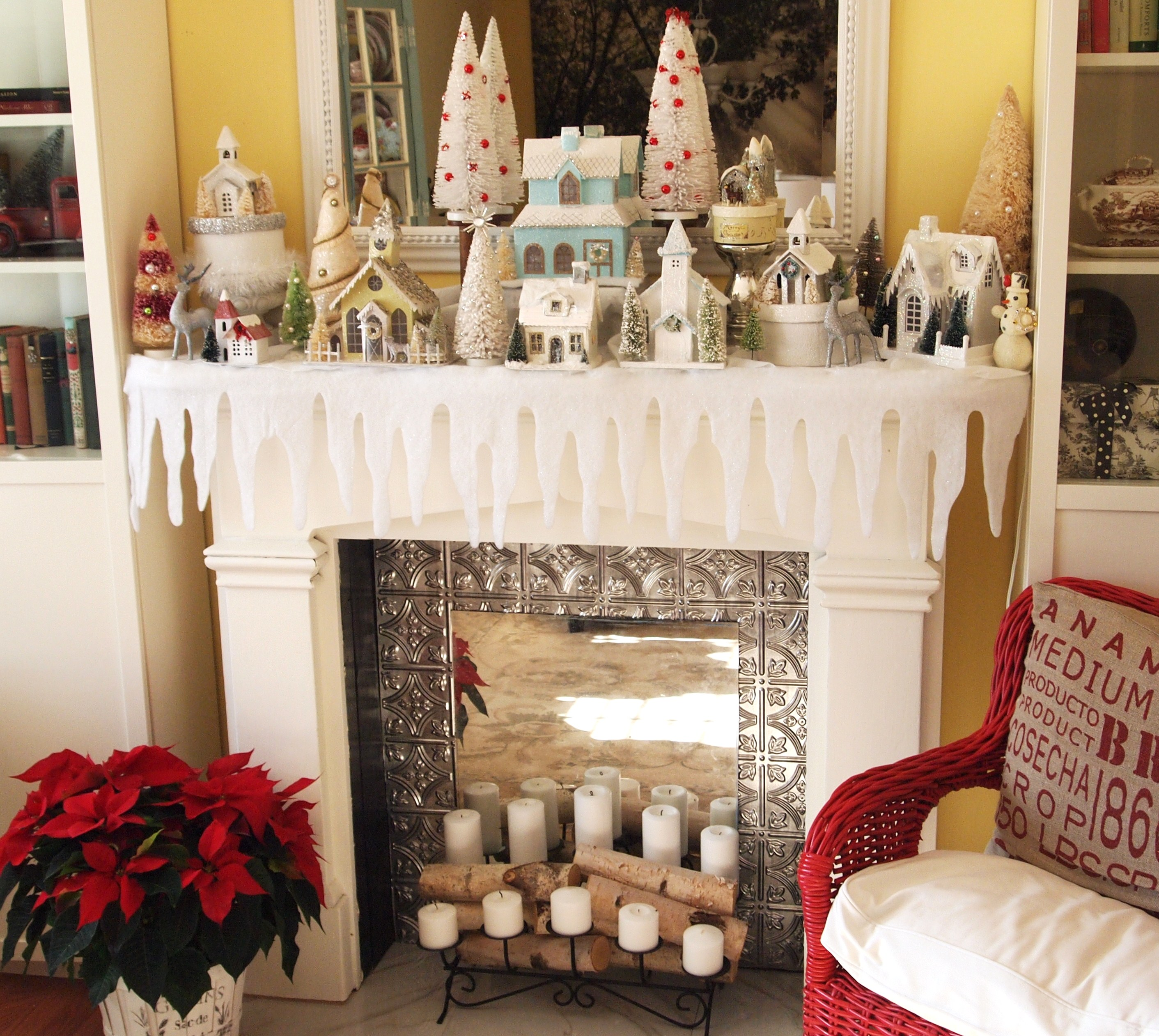 Christmas decoration ideas for a small house - Ways To Decorate Your House For Christmas Roselawnlutheran