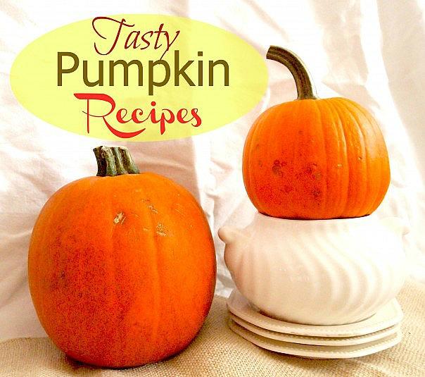 Tasty pumpkin recipes!