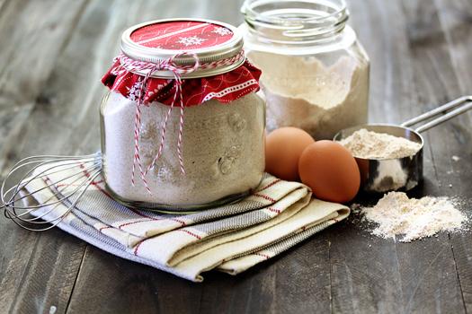 pancake mix in a jar gift