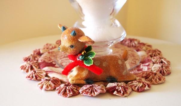 paper pulp reindeer
