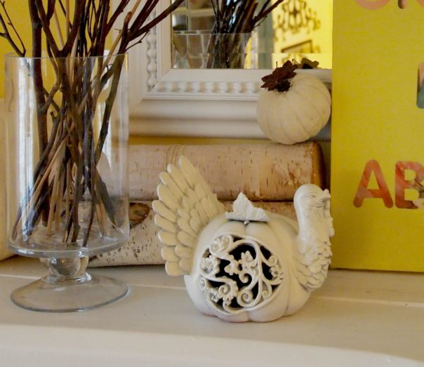 ceramic turkey - A Cultivated Nest